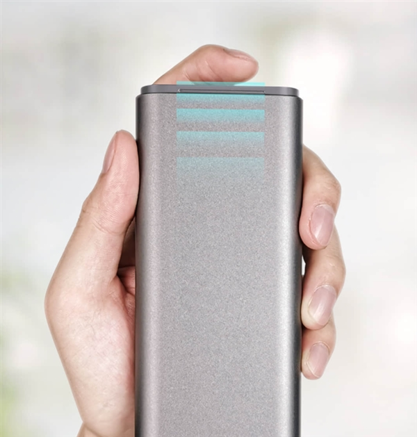 米物金属文具盒发布:铝相符金表壳 按压开相符