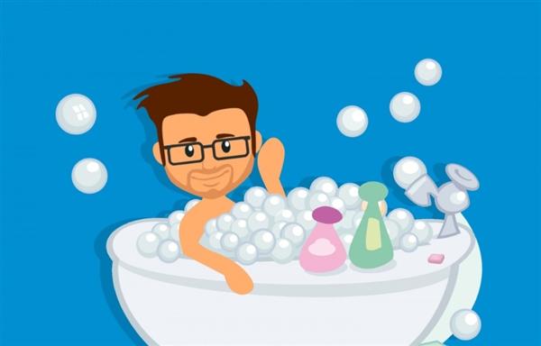 万没想到 洗澡竟有这么众讲究:正本昔时都洗错了