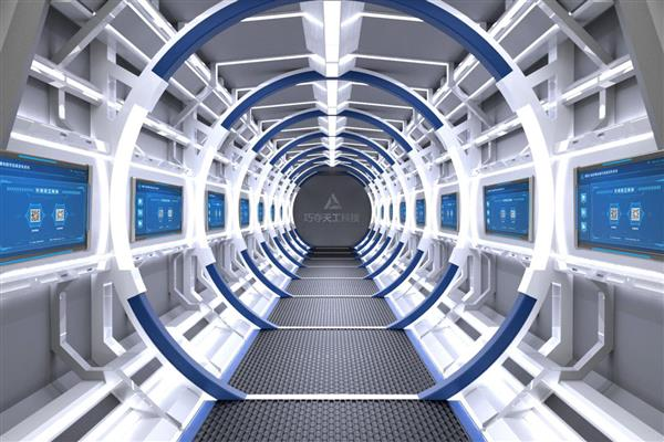 把太空舱搬入办公室?办公室展厅装修还能这么玩