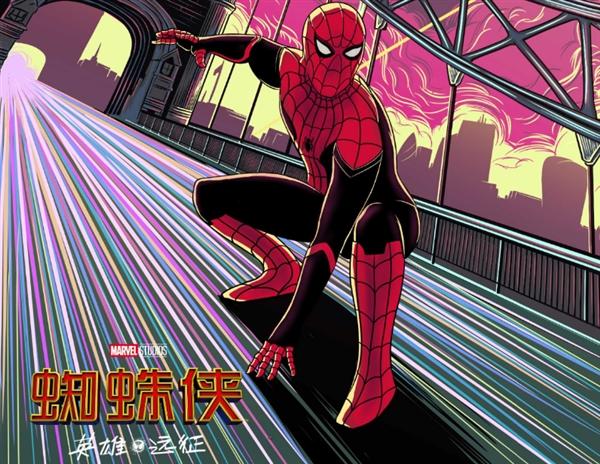 《蜘蛛侠:英雄远征》国内上映:零点票房创单人英雄新高