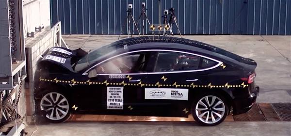 欧洲NCAP公布特斯拉Model 3碰撞成绩:辅助安全迄今最高分