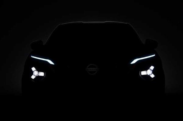 具有两厢车性能的迷你SUV!日产全新JUKE再发预告图:分体式大灯