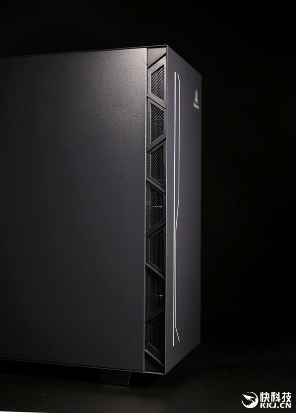 尝鲜ATX 3.0架构!鑫谷开元K1机箱图赏