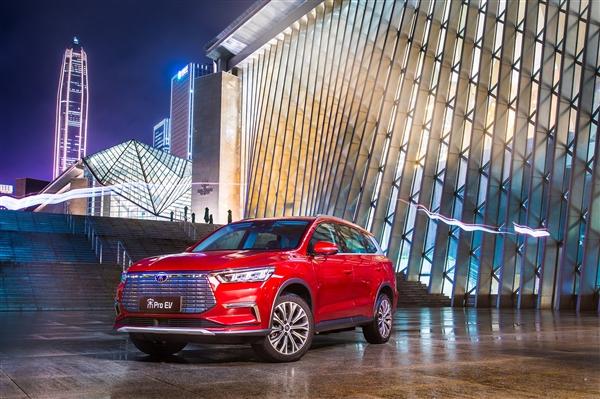 比亚迪年中财报:净收好猛添2倍 新能源汽车份额达24%