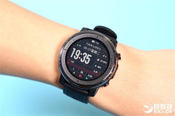 双芯双系统 Amazfit智能运动手表3首次开卖