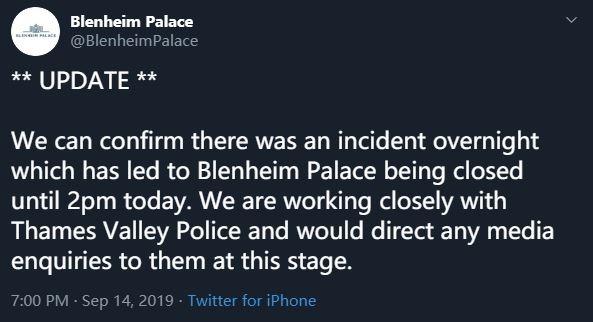 真金马桶被偷 布伦海姆宫临时关闭
