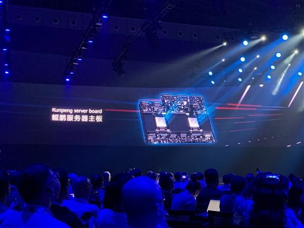 华为正式发布鲲鹏服务器主板:声援友人打造最强算力