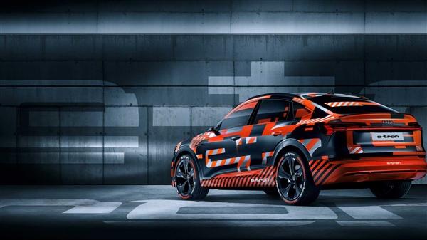 配备95kWh电池组!奥迪e-tron Sportback将11月19日发布