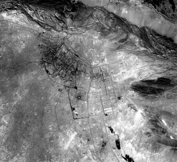 珠海一号03组卫星高清照首发:组网一年采集7150TB数据