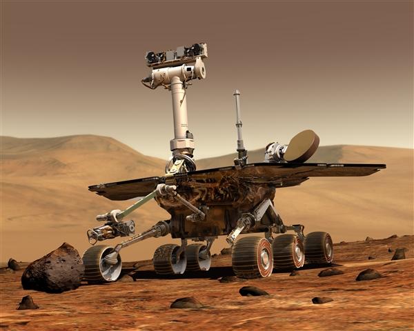 NASA发现火星或曾有生命:探测器在火星发现证据