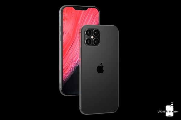 iPhone 12外形曝光:首上四摄、刘海变小