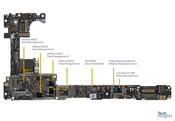 华为Mate 30 Pro 5G探秘:自研海思芯片占一半