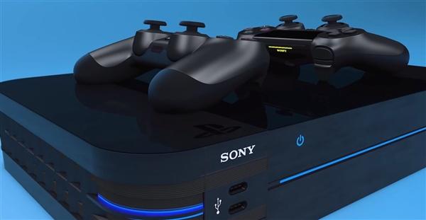 零售商公布索尼PS5主机与DS5手柄概念设计:无线充电、OLED屏够激进