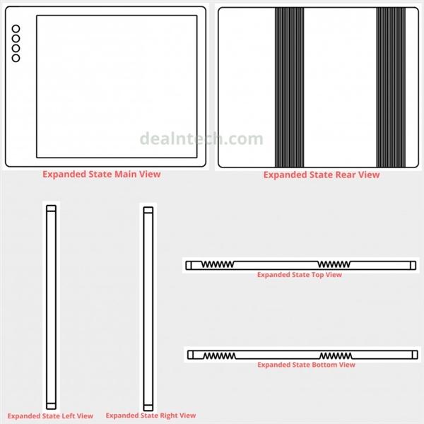 小米可折叠手机专利图曝光