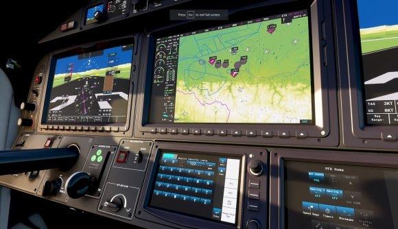 《微软模拟飞行》2020年登陆:驾驶舱更加拟真