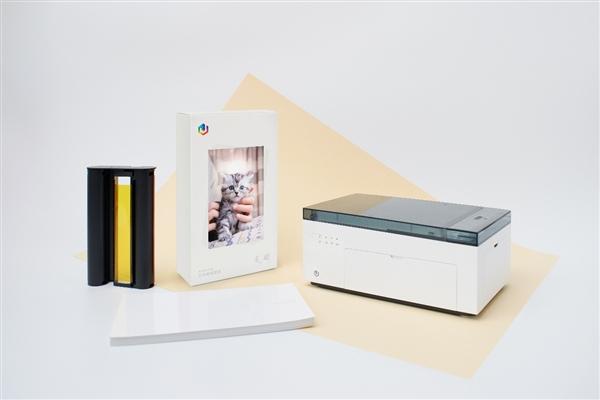 小米有品众筹极印留声照片打印机:让你的照片会动会说话