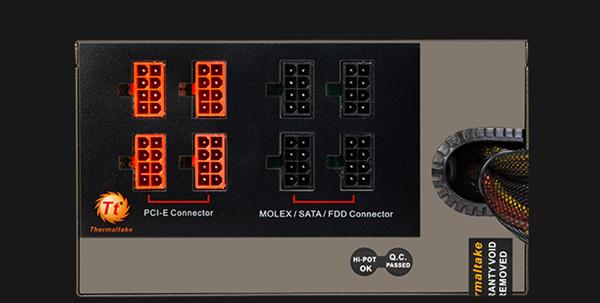 TT 1250W金牌模组电源秒杀:仅售689元 暴跌50%