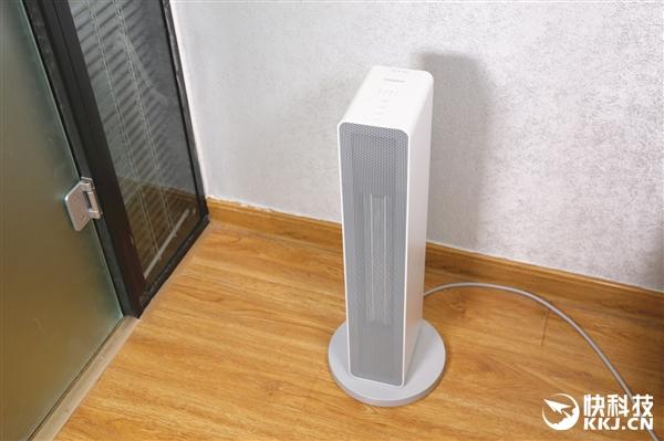 智米智能暖风机图赏:幼巧不占地 90°广角送风