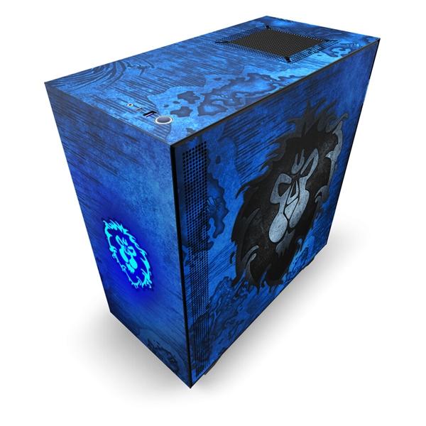 NZXT推出《魔兽世界》定制机箱:限量1000个 售价1400元