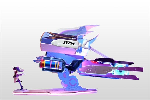 AWSL!微星、B站推出15万元主机:超燃高达外观