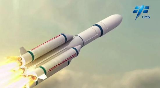 """中国火箭家族最强火箭王者归来 """"长征5号""""发射"""