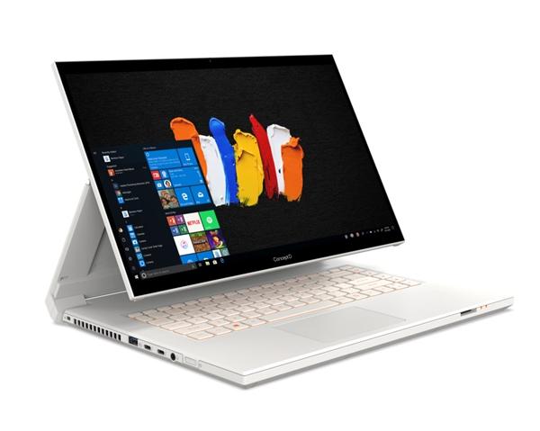 便携式Surface Studio!宏碁推出ConceptD 7 Ezel笔记本:5栽控制模式