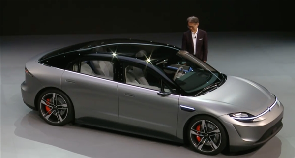 索尼原型电动汽车Vision-S发布:布满33颗自动驾驶传感器