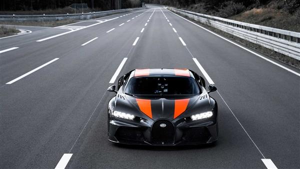 超跑之王!布加迪发布新车型预告图:搭8.0T 16缸动力