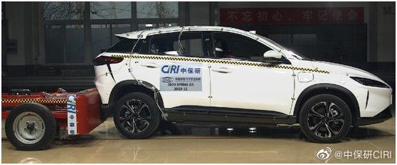 中保研公布幼鹏G3碰撞测试收获:乘员/走人珍惜、辅助坦然外现特出
