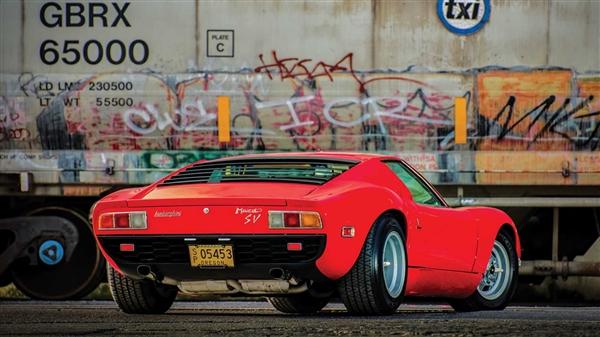 49年车龄的兰博基尼Miura将被拍卖!预估成交价964-1100万