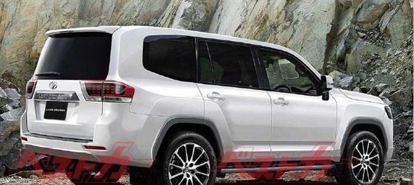 丰田全新兰德酷路泽最新渲染图曝光 搭载3.5T双涡轮增压发动机