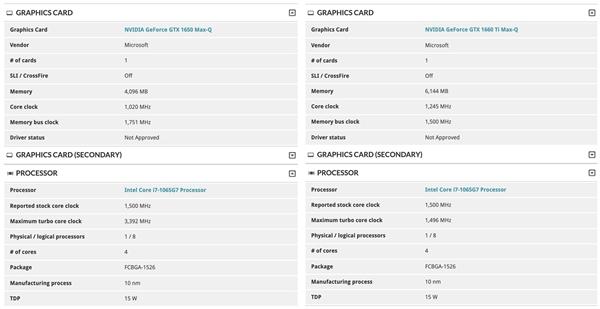 微柔Surface Book 3现身3D Mark:顶配10nm酷睿i7、GTX 1660 Ti