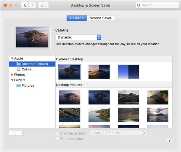 Windows 10X将声援行态壁纸:macOS早已有之