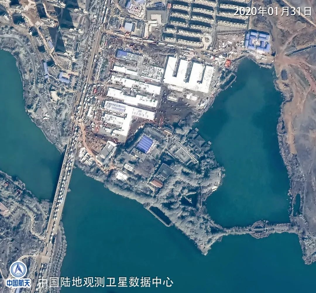 参照2003年抗击非典期间北京小汤山医院模式,在武汉职工疗养院建设图片