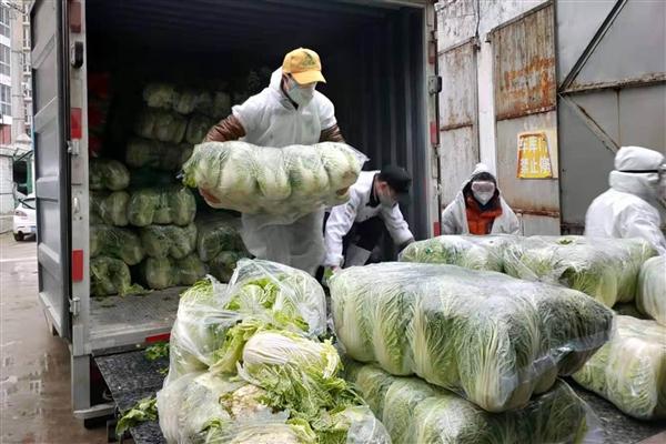 拼众众:始批100吨蔬菜水果直送武汉医院食堂