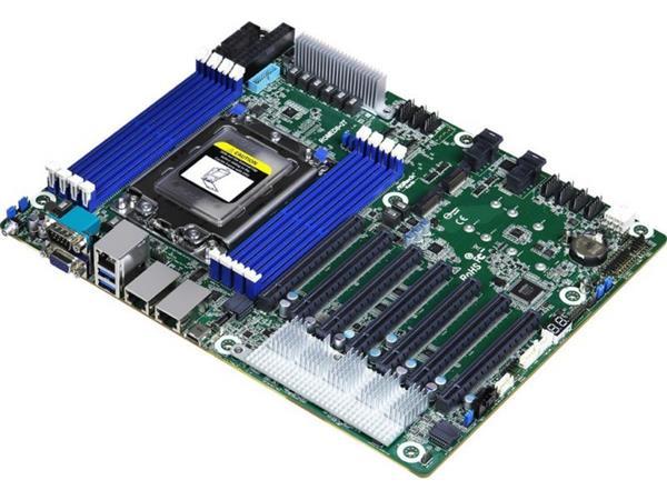 华擎公布声援64核霄龙处理器的主板 内置512MB显存 采纳VGA接口