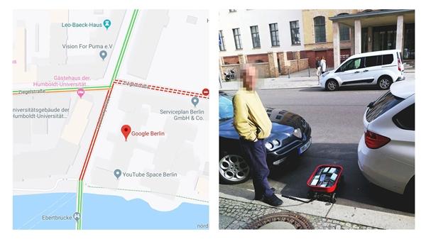 """""""暗""""失踪谷歌地图制造子虚交通壅塞 只必要99部智能机就能够办到"""