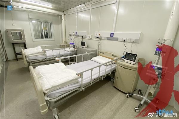 10天稀奇!武汉火神山医院内部探秘:设施答有尽有