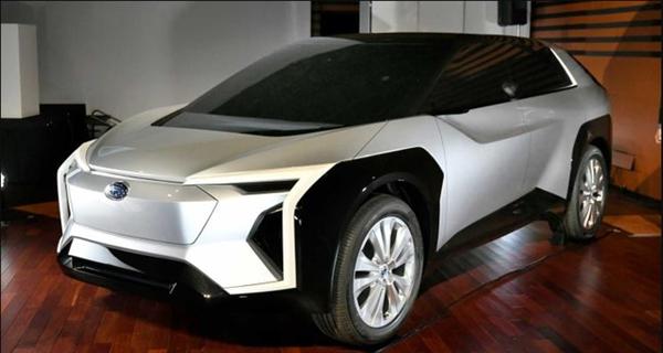 斯巴鲁公布首款电动车:表形科幻 2025年量产