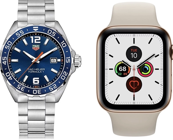 苹果智能手表出货量创新高:越来越多用户无爱机械表