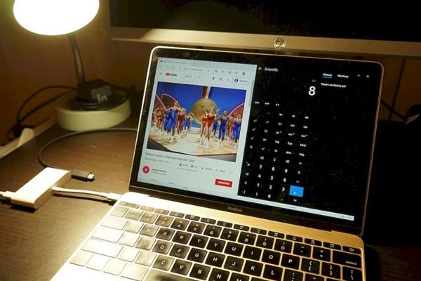 苹果MacBook运行Wn10X:传统PC上也能良好运行