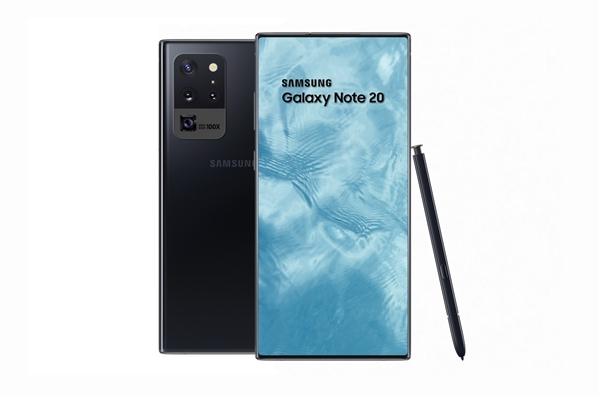 100%全面屏?三星Galaxy Note 20首曝:或7月发