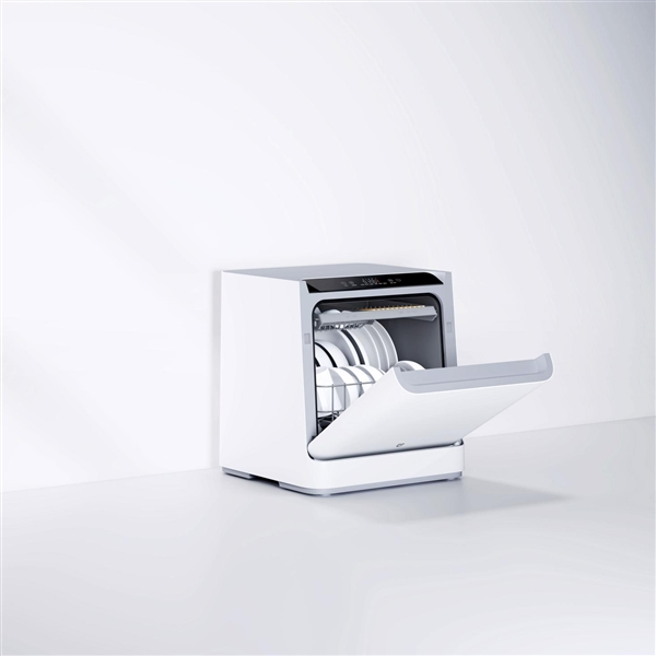 999元!幼米洗碗机4套台式开启多筹:6栽洗涤模式