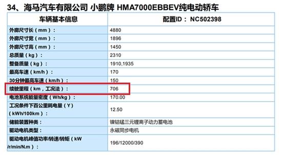 幼鹏P7续航如何达到706KM 官方亲自揭秘