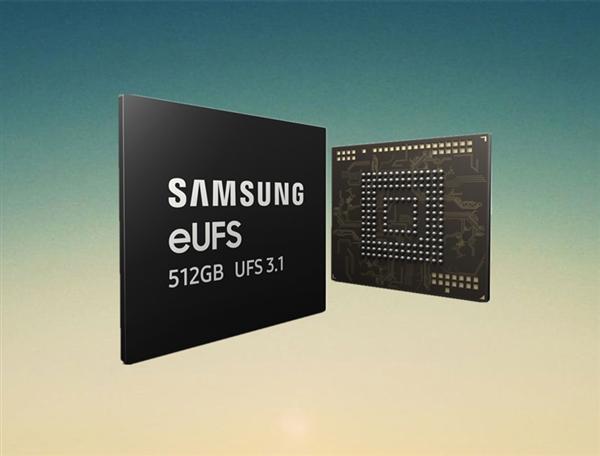 三星开起量产业内最快UFS 3.1手机闪存:写速高达1.2GB/s、3倍于UFS 3.0