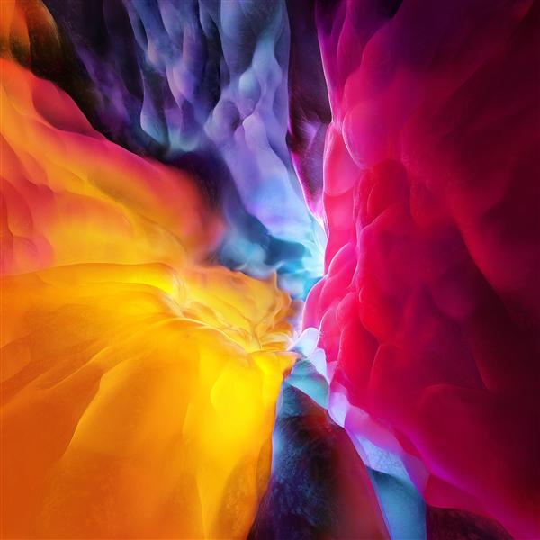 iPad Pro全新官方壁纸曝光:提前下载体验