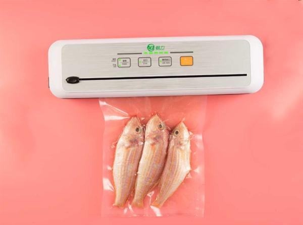 小米有品上架食物真空保鲜封口机:199元家商通用