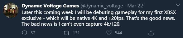 主机平台首款4K@120FPS游戏