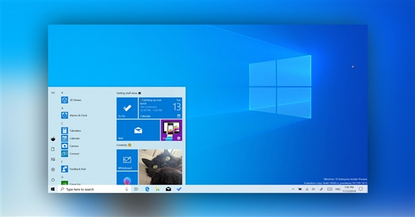 Win10正式版今年始次迭代:体系更新UI可视化、升级体验更友益