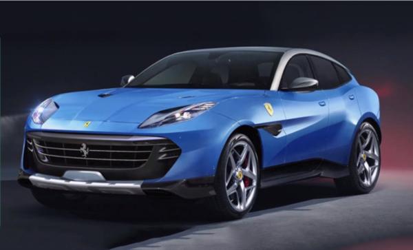 法拉利始款SUV渲染图曝光:售价或超300万元